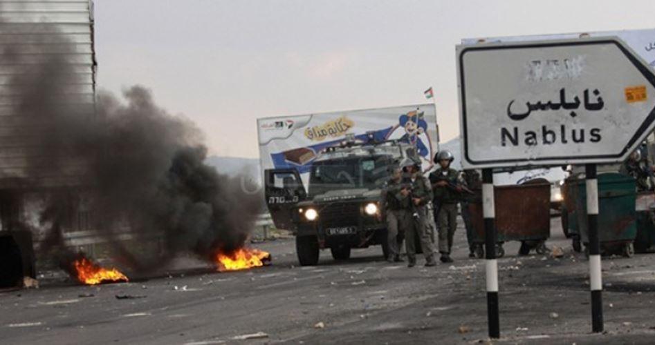 Scontri violenti a est di Nablus tra forze di occupazione e giovani palestinesi
