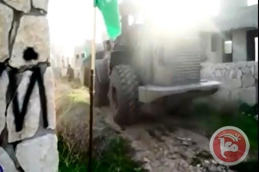 Video: le forze israeliane si allenano simulando demolizioni di case palestinesi