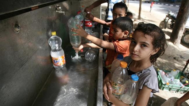Gaza in grave carenza d'acqua