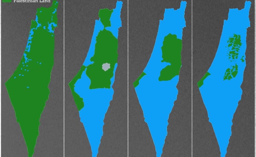 L'85% del territorio palestinese è sotto il controllo israeliano