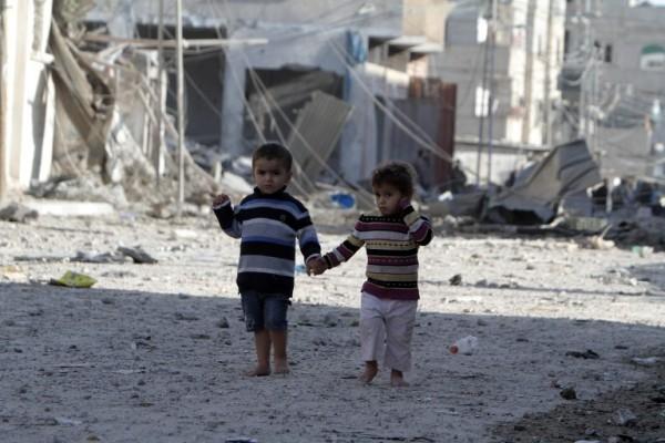 La popolazione palestinese assediata di Gaza di fronte a due nemici