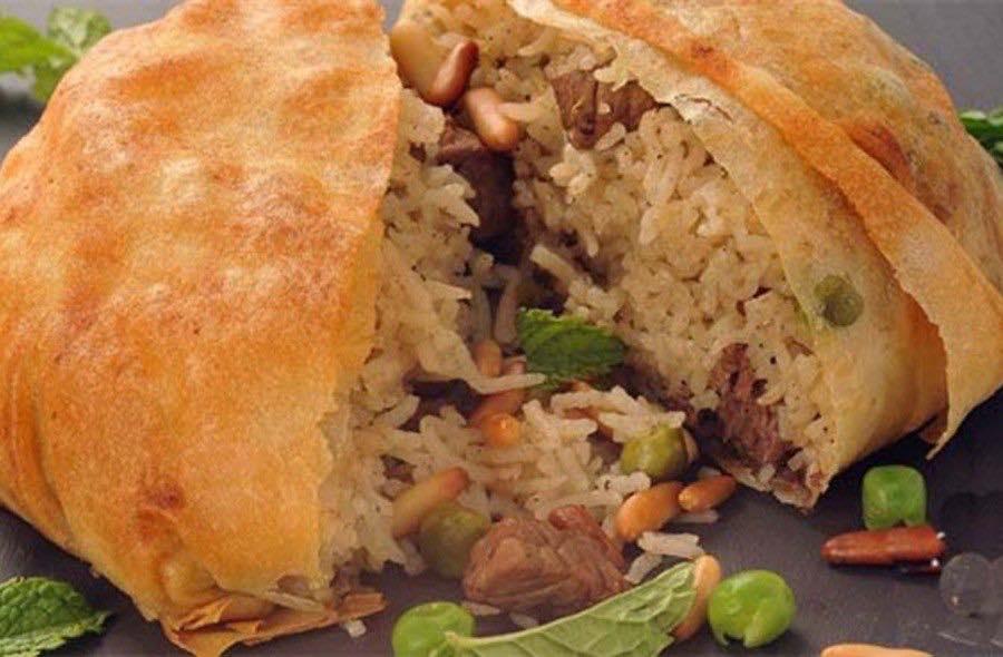 Al-Ouzi, tra i più conosciuti piatti della tradizione popolare palestinese