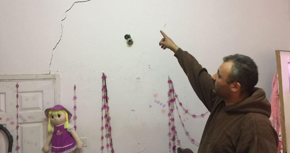 Case palestinesi a Silwan pericolanti a causa delle perforazioni sotterranee israeliane