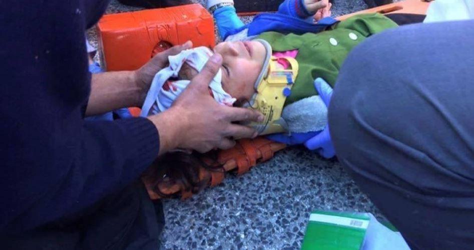 Colono israeliano investe bimbo palestinese di 4 anni
