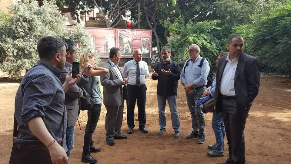 La delegazione italiana in Libano in visita a Sabra e Shatila