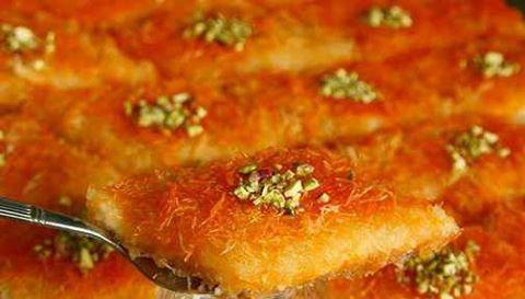 Knafa, dolce tipico palestinese