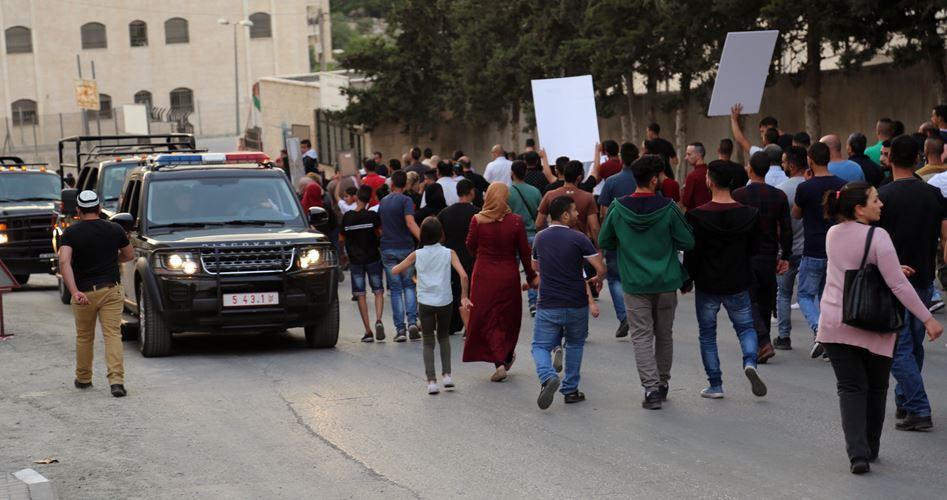 Trump condannato durante una marcia a favore dei prigionieri a Betlemme