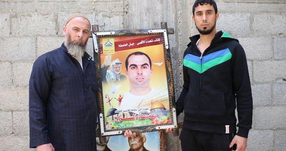 Il prigioniero al-Sarraj in lotta contro la malattia e in sciopero contro l'occupante