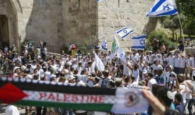 708 coloni invadono al-Aqsa per celebrare l'occupazione di Gerusalemme Est