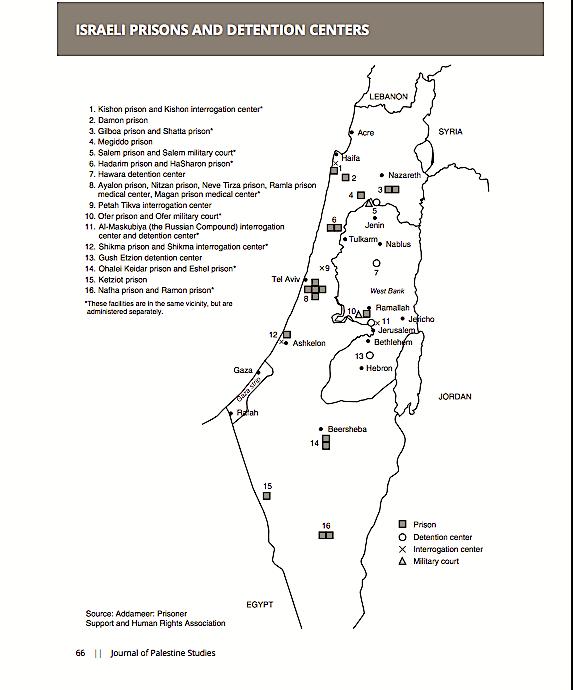 mappa-prigioni-israele