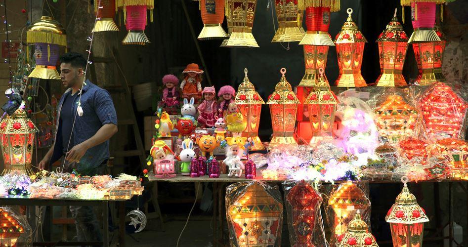 A Nablus si respira un'aria di festa per il mese di Ramadan