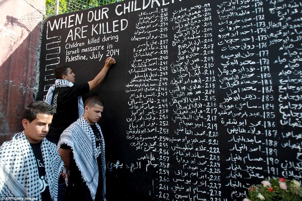 Dal 2000 a oggi Israele ha ucciso 3000 minorenni palestinesi