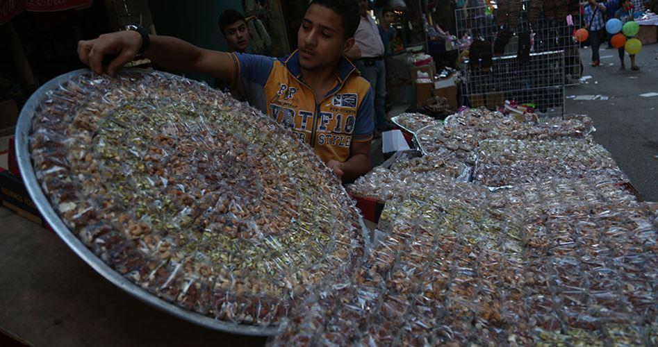 """Mercati di Gaza """"morti"""" alla vigilia dell'Eid"""