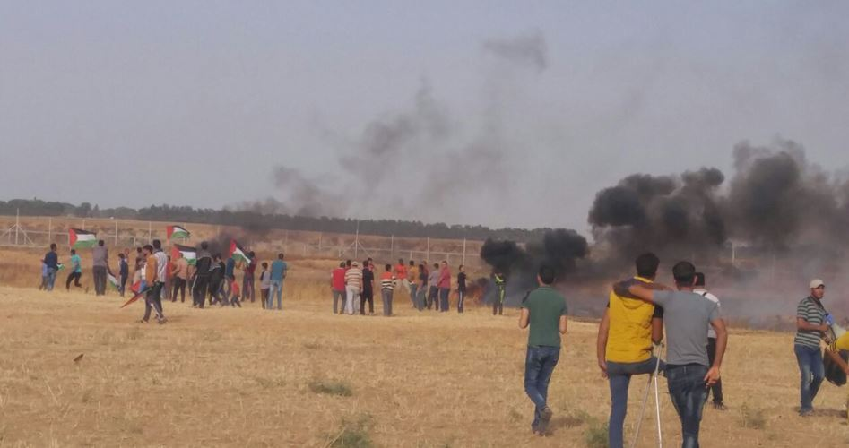 Manifestazioni anti-assedio nella Striscia di Gaza, 2 giovani feriti