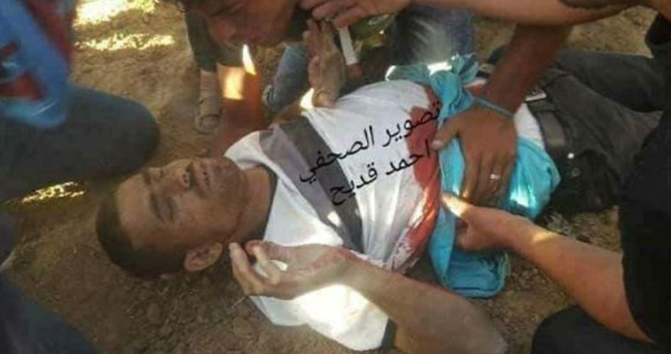 Le forze israeliane uccidono un palestinese e ne feriscono altri sei a est di Gaza