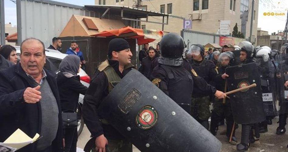 Campagna di arresti dell'ANP contro attivisti anti-occupazione