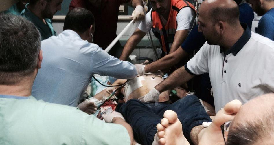 Giovane palestinese gravemente ferito da forze israeliane a Hizma