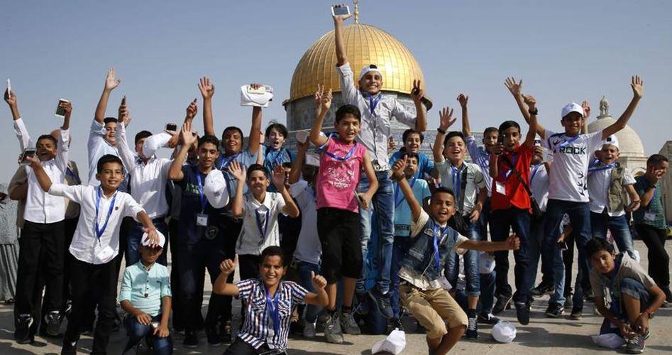 I bambini di Gaza visitano Gerusalemme per la prima volta