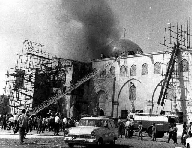 Per non dimenticare: 21 agosto 1969, l'incendio nella Moschea al-Aqsa