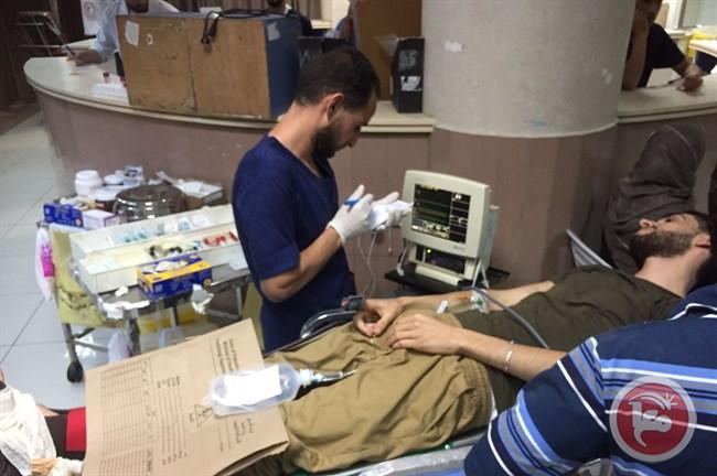 5 giovani feriti dalle forze israeliane a Beit Rima