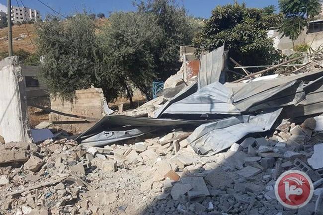 Israele demolisce una casa palestinese a Silwan per la seconda volta in una settimana