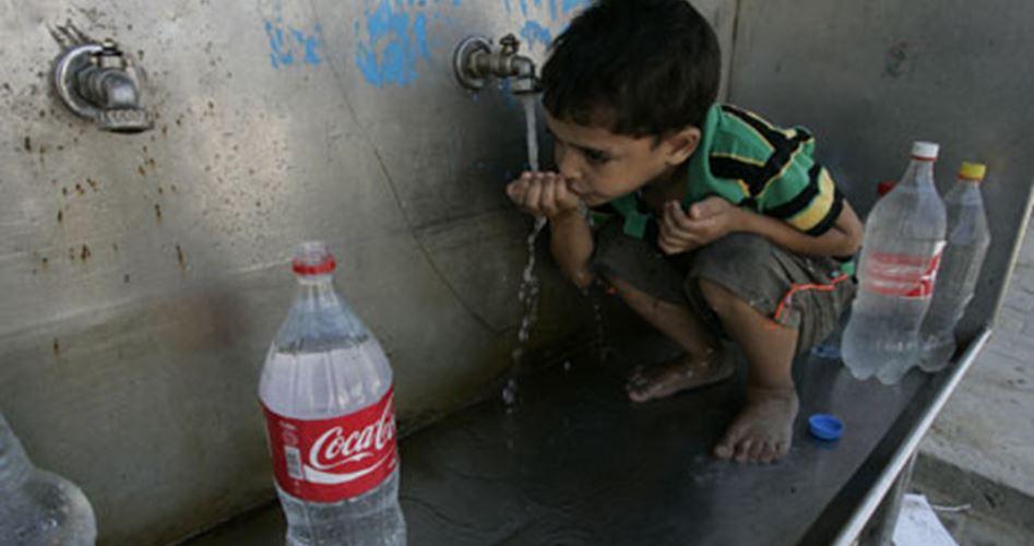 Acque di Gaza, scarse e contaminate