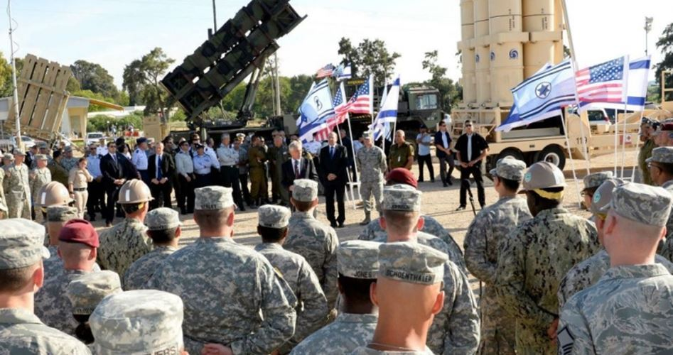 Inaugurata la 1ª base aerea USA nei Territori occupati del '48 (Israele)