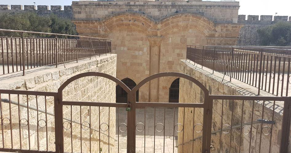 Moschea al-Aqsa: la chiusura definitiva della Porta al-Rahma
