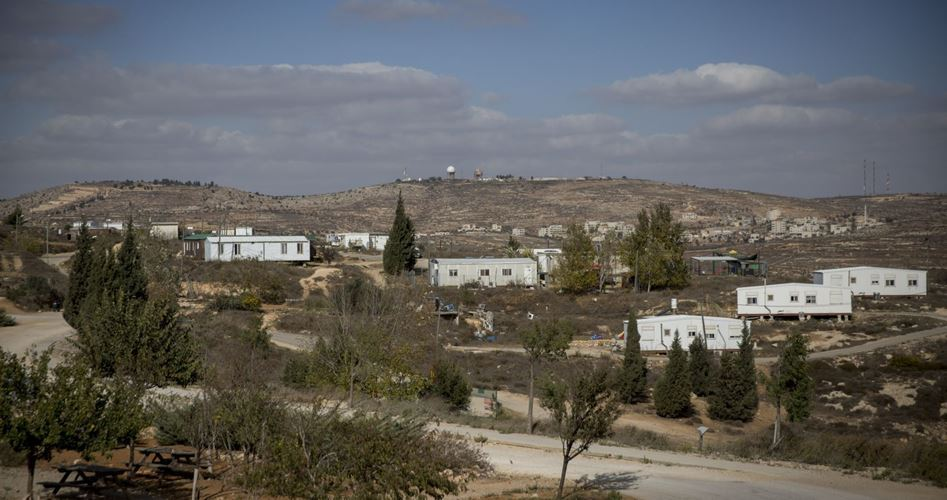 Israele inizia la costruzione di un nuovo insediamento coloniale a Nablus