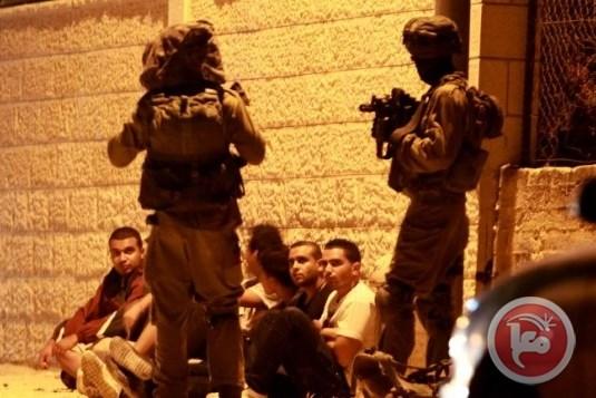 18 Palestinesi sequestrati dalle forze di occupazione in Cisgiordania e Gerusalemme