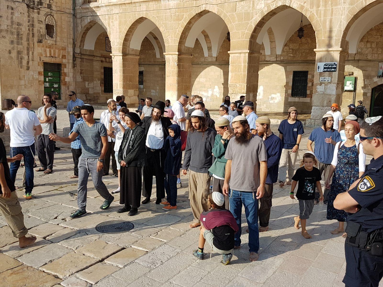 Gerusalemme, 131 coloni israeliani fanno irruzione a al-Aqsa