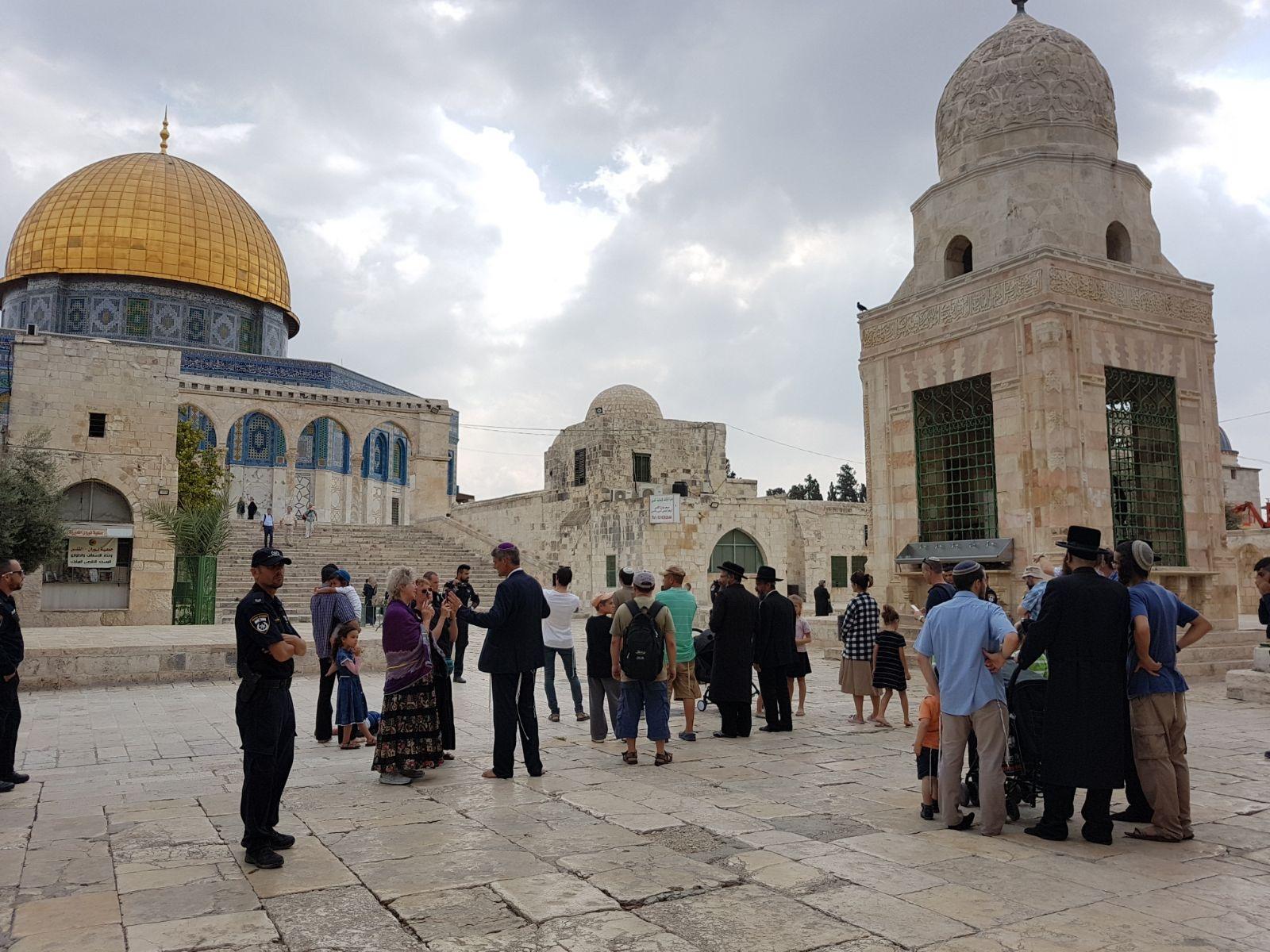 "154 coloni invadono al-Aqsa per lo ""Yom al-Kippur"""