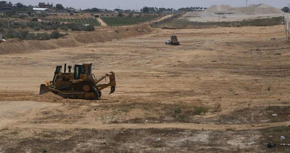 L'Egitto continua la costruzione di una zona tampone con Gaza
