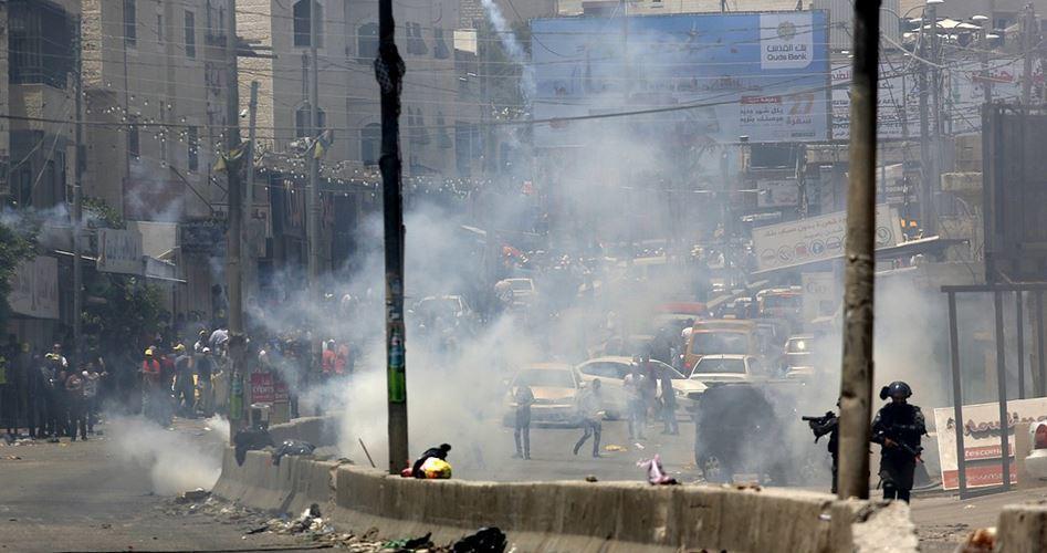 12 Palestinesi feriti dalle forze israeliane a Ramallah. Scontri in diverse località della Cisgiordania