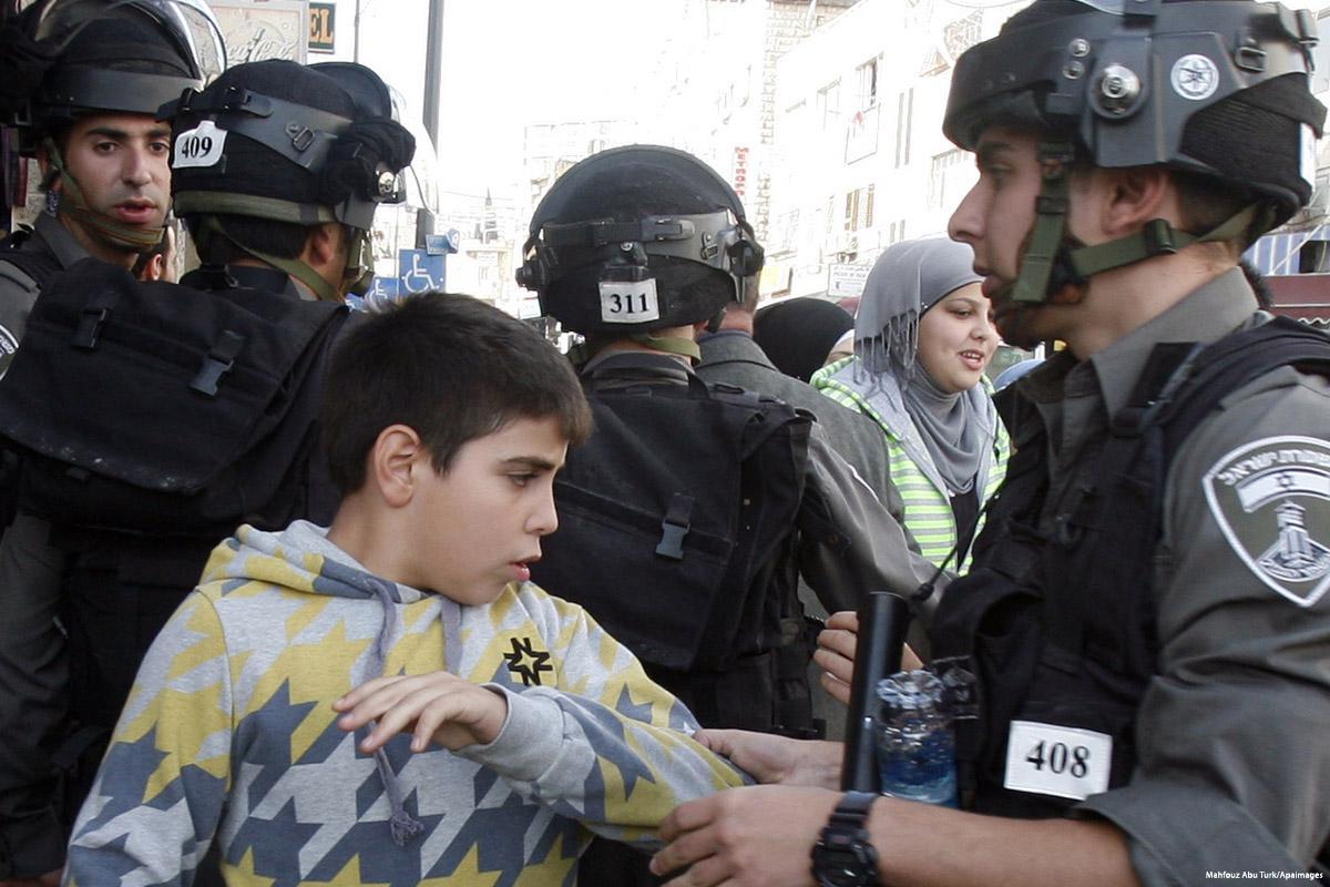 A settembre Israele ha arrestato 33 minorenni