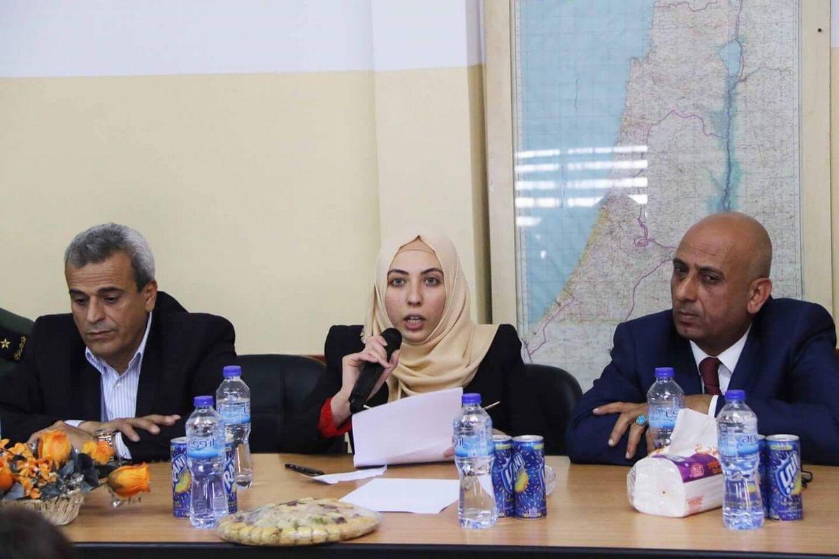 """""""Le donne palestinesi sono simboli di eroismo"""""""