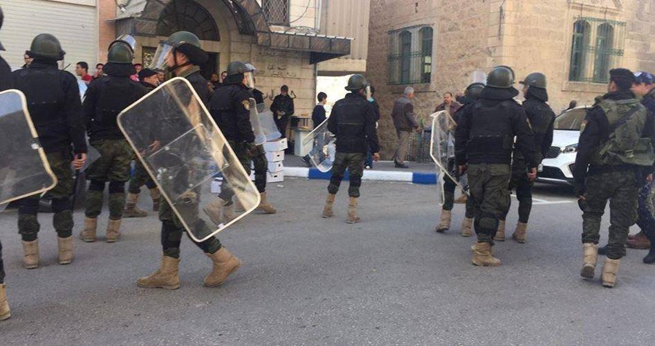 Nove Palestinesi arrestati dalle forze dell'ANP