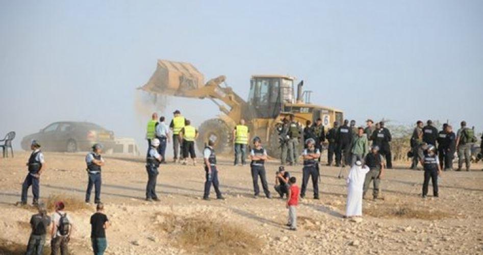 Demolito villaggio beduino nel Negev per la 120ª volta