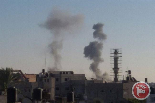 L'esercito israeliano bombarda aree della Striscia di Gaza