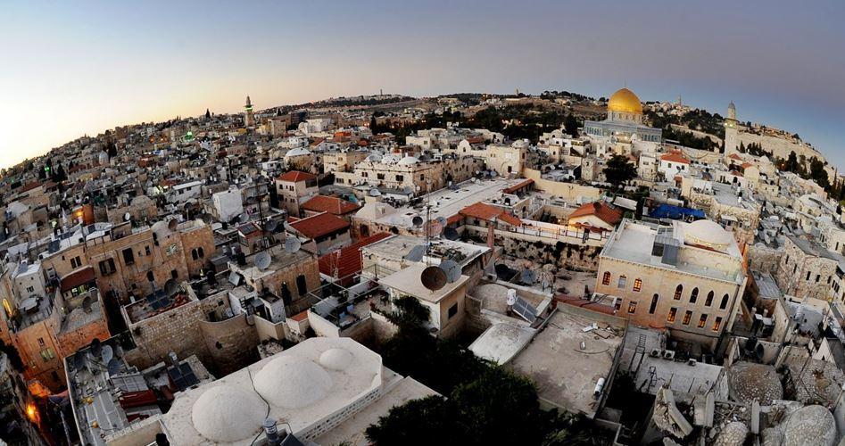 Gerusalemme, città con siti storici islamici e cristiani