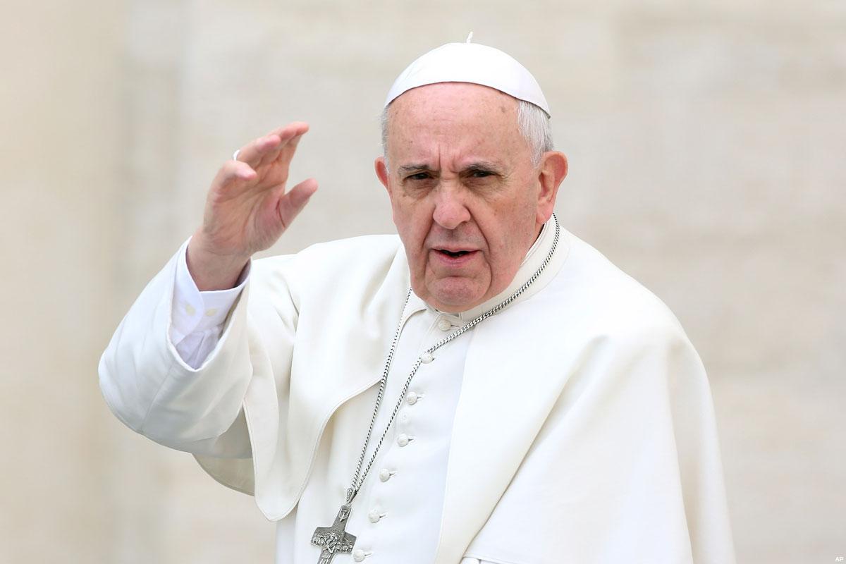 L'appello di papa Francesco per la fine delle discriminazioni nella Città Santa