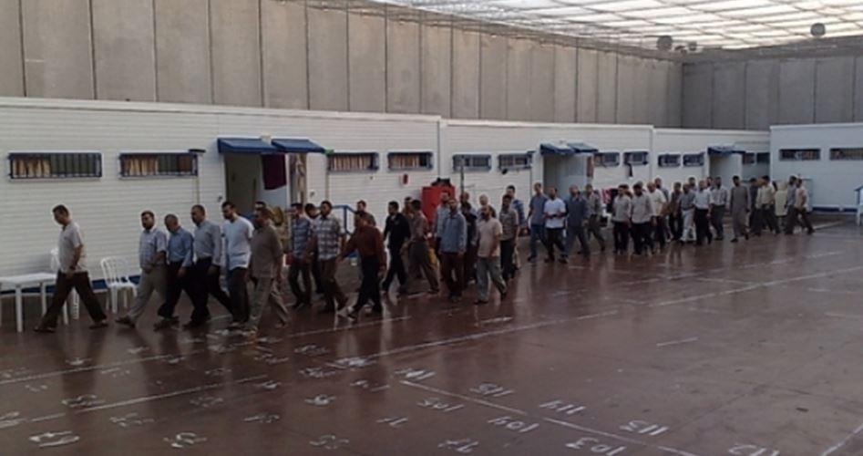 Ministro israeliano prende in considerazione l'incarcerazione di Palestinesi in tende
