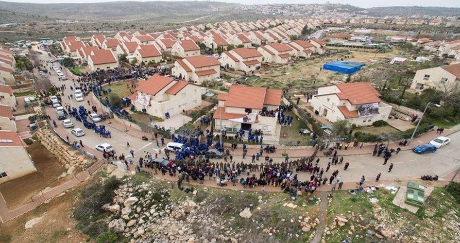 """La """"giustizia"""" israeliana legalizza 1048 unità coloniali in Cisgiordania"""