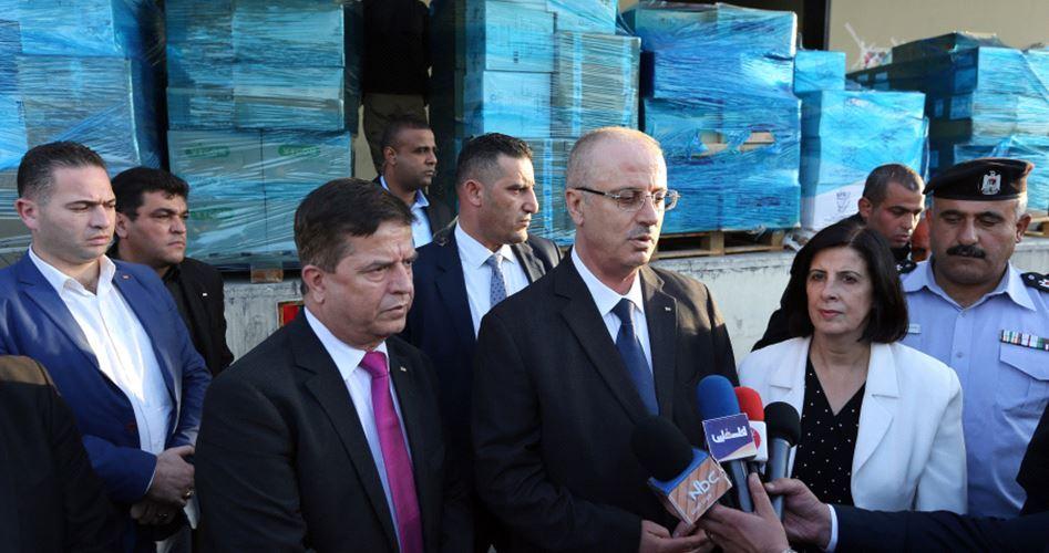 Hamdallah: prosegue la missione del governo dell'ANP a Gaza