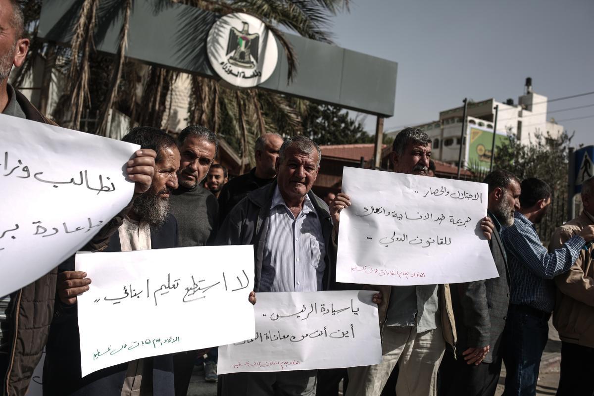 In Palestina il più alto tasso di disoccupazione degli ultimi 15 anni