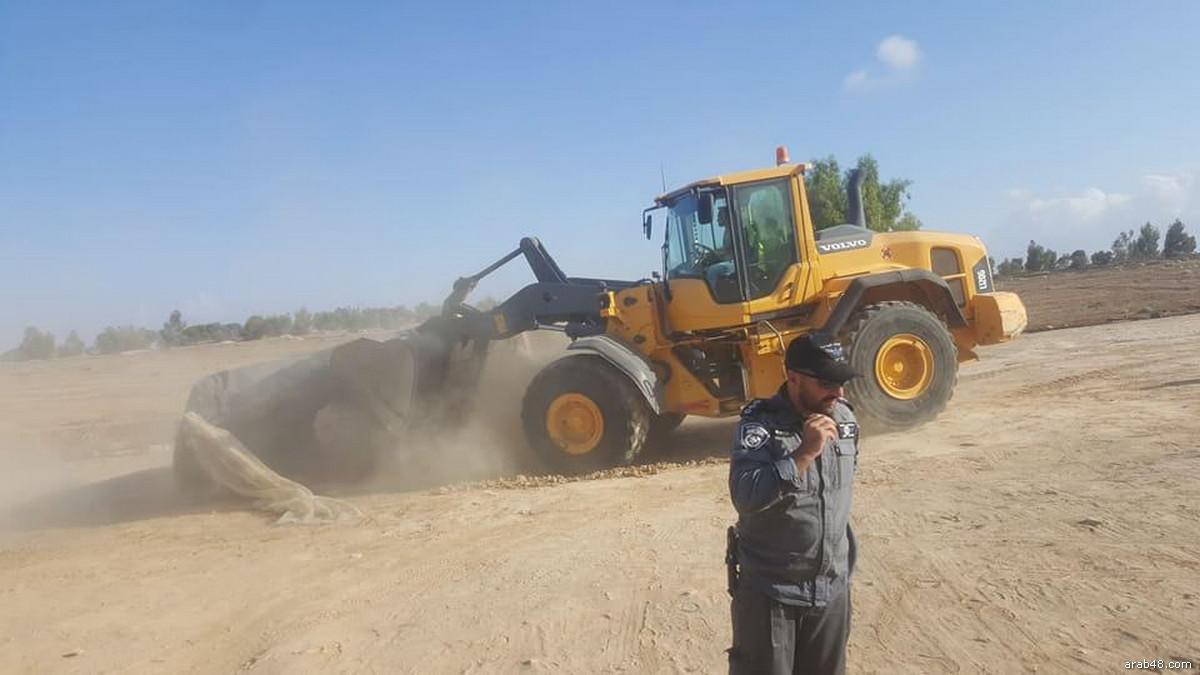 La pulizia etnica della Palestina: Israele demolisce al-Arakib per la 121ª volta