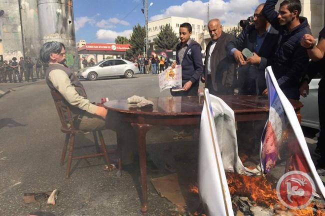Le forze israeliane reprimono proteste per il centenario della Dichiarazione Balfour