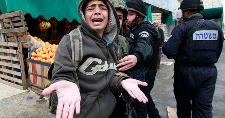 Bambino di 9 anni arrestato a Hebron dalle forze di occupazione