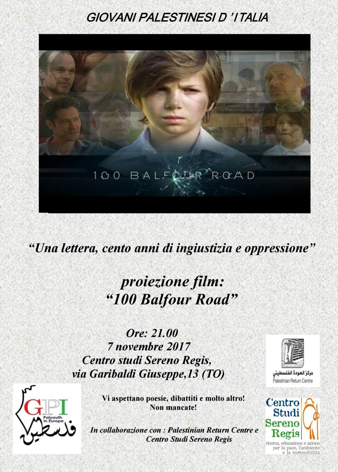 """GPI a Torino: """"Una lettera, 100 anni ingiustizia e oppressione"""""""