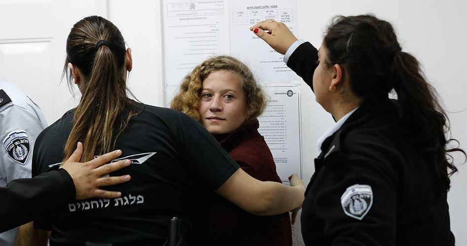 58 prigioniere palestinesi nelle carceri israeliane, tra cui 10 minorenni